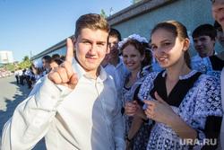 Вальс выпускников на городской набережной. Тюмень