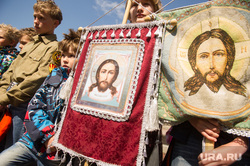 Детский крестный ход по случаю 1 июня. Екатеринбург, церковь, крестный ход, дети, рпц, православие