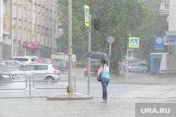Клипарт. Челябинск, ливень, зонт, дождь