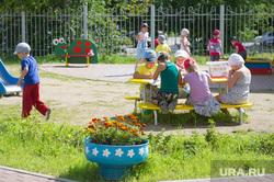 Детский сад №33 на улице Юлиуса Фучика, 5а. Екатеринбург, игровая площадка, дети