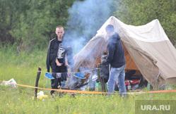 Ильменский фестиваль. Челябинск., лето, палатка