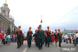 День города, Екатеринбург, 14.08.16, оркестр, шествие, площадь 1905, парад, день города