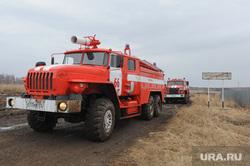 Лесные пожары. Учения МЧС. Челябинск, пожарная машина, шеломенцево
