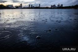 Вечер в Екатеринбурге, клипарт, лужа, дождь, капли, непогода, вечер