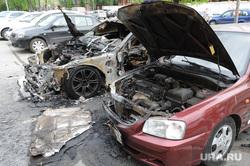 Машина сгорела. Пожар. Екатеринбург., пожар, авто, машина, хюндай