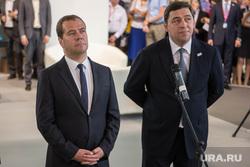 ИННОПРОМ-2014: проходка Дмитрия Медведева по выставке и пленарка. Екатеринбург, куйвашев евгений, медведев дмитрий
