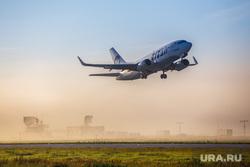 Очередной споттинг в Кольцово. Екатеринбург, самолет, туман, utair, ютейр