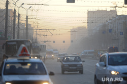 Клипарт. Смог. Экология. Челябинск., пыль в городе, смог