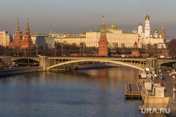 Клипарт. Уфа, Москва, кремль, закат, мост, москва-река, город москва