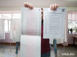 Праймериз Единой России. Сургут, избирательный участок, праймериз, бюллетени, выборы, голосование