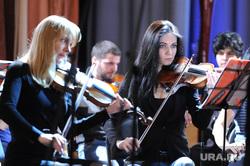 Мацуев Денис и Дубровский Борис. Челябинск., оркестр
