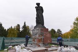 Памятник Орленку. Ремонт.Челябинск., ремонт, памятник орленку