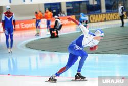 Чемпионат Европы по конькобежному спорту. Челябинск, конькобежец, юсков денис