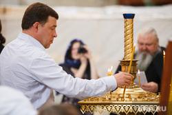 Рабочий визит губернатора. Верхотурье, куйвашев евгений, свеча, молитва