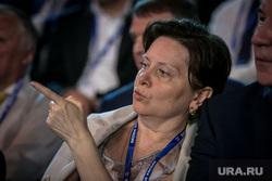 XV (15) съезд ЕР. Второй день. Москва, портрет, указывает пальцем, комарова наталья