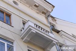Дом с проблемными балконами. Челябинск., аварийный дом
