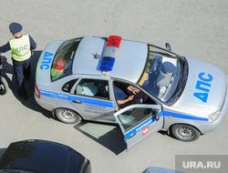 ДПС ГИБДД Челябинск, мотоциклист, гибдд, дпс
