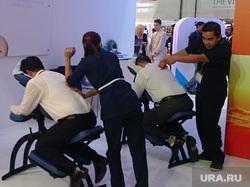 Флайдубай, полет бизнес-классом на самолете Боинг-737-800 в Дубай, ОАЭ. 4-7 мая 2014, массаж