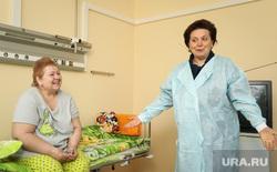 Визит Комаровой в ожоговое отделение городской клинической больницы г.Сургута, больница, комарова наталья, палата
