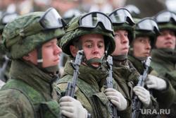 Репетиция парада Победы в 32-ом военном городке. Екатеринбург, курсанты, новобранцы