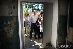 Поездка Дениса Паслера в поселок Монетный