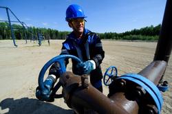 Открытая лицензия на 30.07.2015. Добыча газа. Газпром-нефть. ХМАО, газ, вентиль