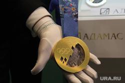 Презентация олимпийских медалей зимних игр 2014 года в Сочи. Екатеринбург, медаль сочи, сочи 2014, sochi 2014, адамас