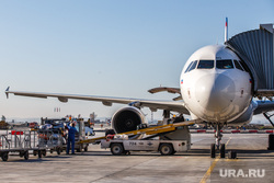 Очередной споттинг в Кольцово. Екатеринбург, аэропорт кольцово, багаж, разгрузка, самолет