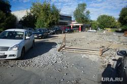 Ремонт дорог в Екатеринбурге, улица тверитина