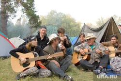 Бардовские костры (архивные фото) Курганская обл, бардовские костры, игра на гитаре