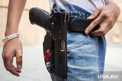 Практическая стрельба из пистолета. Екатеринбург, пистолет, оружие