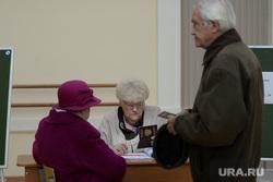 ВЫБОРЫ-2016. Перезалито. Майорова. Екатеринбург, голосование, пенсионеры