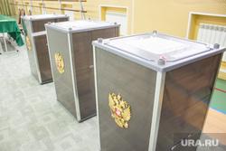 Выборы губернатора Тюменской области. Нижневартовск, избирательные урны