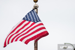 Генеральное консульство США и Великобритании. Екатеринбург, флаг сша