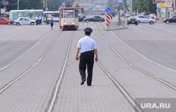 Свеча памяти. Челябинск., полиция, трамвай, рельсы, улица кирова