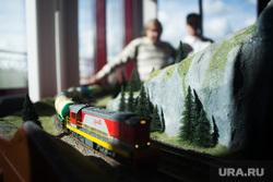 Открытие нового комплекса детской железной дороги. Екатеринбург, поезд, железная дорога, макет, ржд
