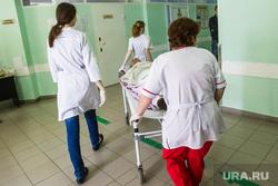 Клипарт. Больницы. Тюмень, каталка, врачи, больница