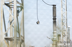 Рефтинская ГРЭС: адресники, место аварии, электричество, изолятор, провод, конденсатор связи