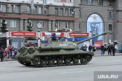 Генеральная репетиция парада. Челябинск., танк, ис-10