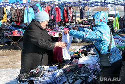 Проблемы села Глядянское, торговля, вещевой рынок