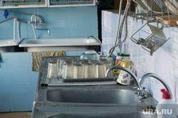 Дорога на поселок Серебрянка под Нижним Тагилом, посуда, столовая, школьная еда