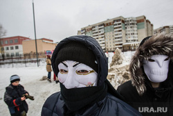 Снежная битва. Тюмень, снежная битва, маска, аноним, гай фокс