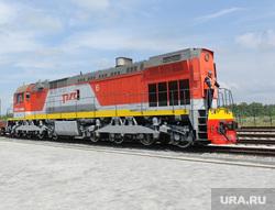 ТЛК Южноуральский Челябинск, поезд, локомотив, тепловоз