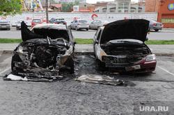 Машина сгорела. Пожар. Екатеринбург., пожар, бмв, авто, машина, хюндай