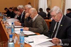 Заседание городской Думы Курган, депутаты городской думы
