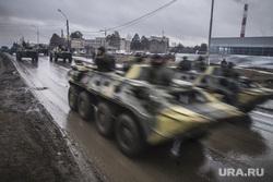 Репетиция парада Победы. Екатеринбург, военная техника, танки в городе