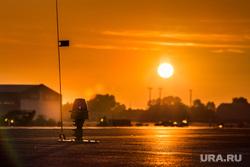 Очередной споттинг в Кольцово. Екатеринбург, аэропорт кольцово, закат