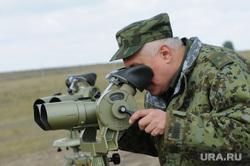Граница Россия-Казахстан. Челябинск., бинокль, армия, наблюдатель, военный, пнб