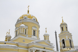 Клипарт. Екатеринбург, церковь, православие, крестовоздвиженский собор