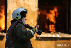 Пожар на Белинского, 163а. Екатеринбург, пожарный, огонь